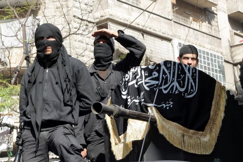 """Bojovníci """"Frontu al-Nusrá"""""""