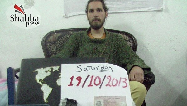 """Konstantin Žuravlev v zajatí u """"Liwa al Tawhid"""""""