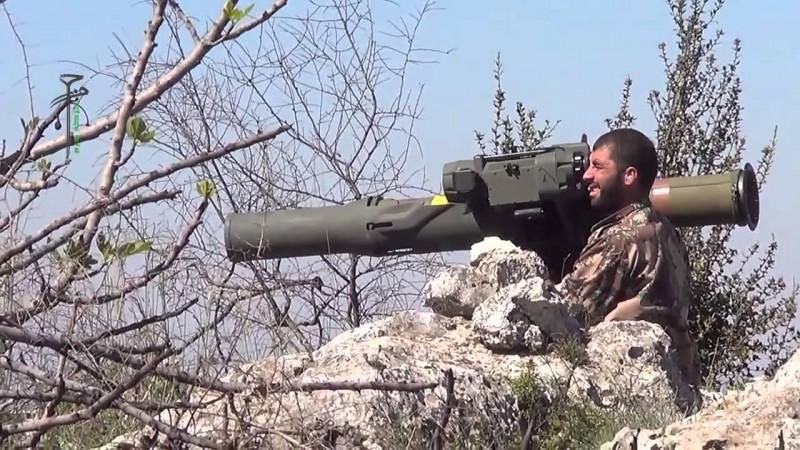 Americký TOW v Latakii