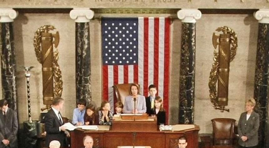 Snemovna reprezentantov - podium