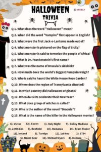 90 Halloween Trivia Questions Amp Answers