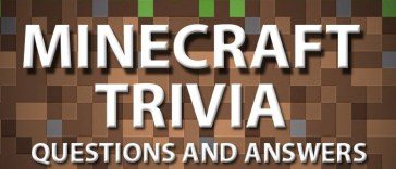 minecraft trivia question and answers meebily