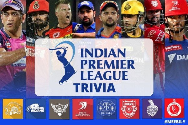 Indian Premier League Trivia Questions & Answers