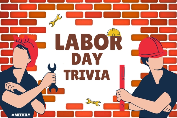 picture about Labor Day Printable named 50+ Labor Working day Trivia Concerns Remedies - Meebily