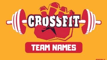 Funny Crossfit Team Names