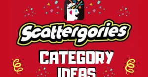 Scattergories Categories Game Ideas