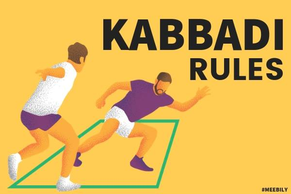 Kabaddi Rules How to play Kabaddi Game