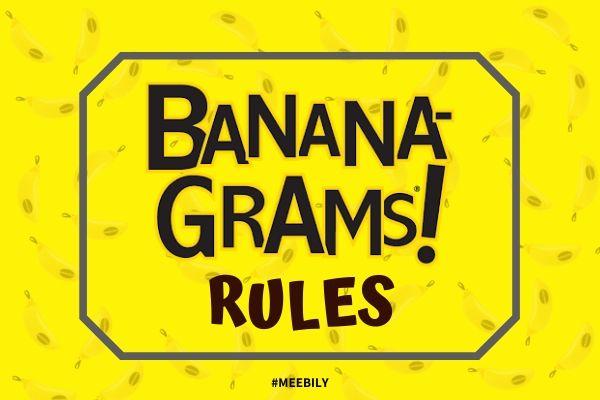 Bananagrams Rules