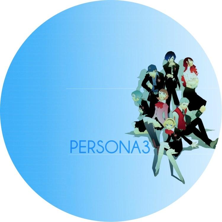 ペルソナ3(汎用) DVDラベル