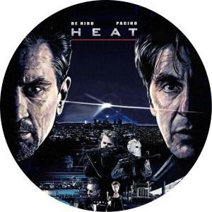 映画 「ヒート HEAT」 DVDラベル