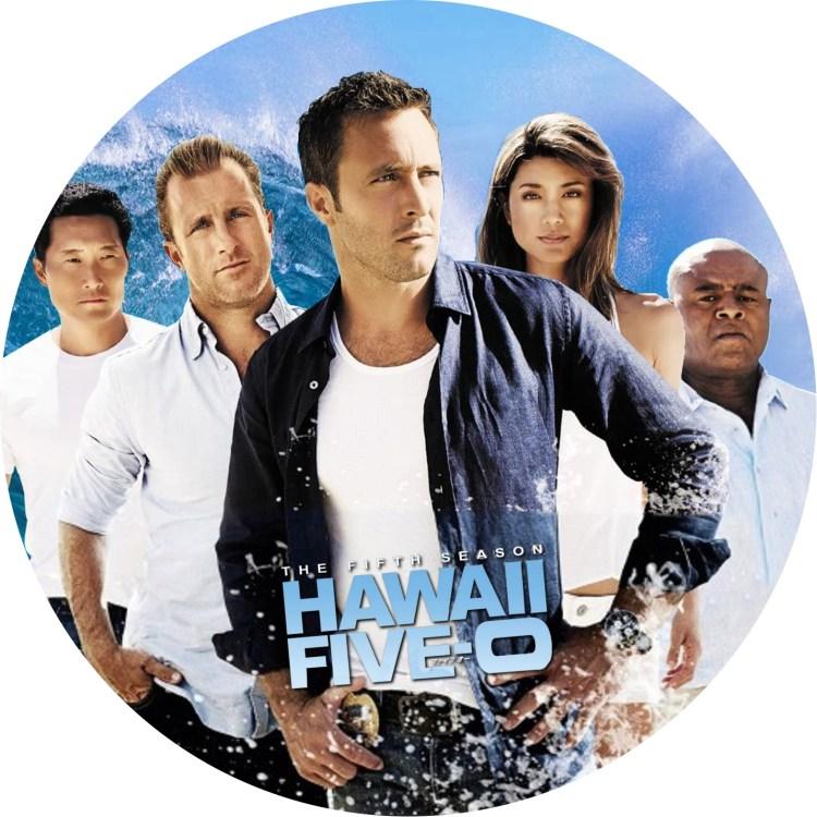 ハワイファイブオー season5のDVDラベルです