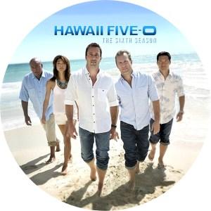 ハワイファイブオー season6のDVDラベルです