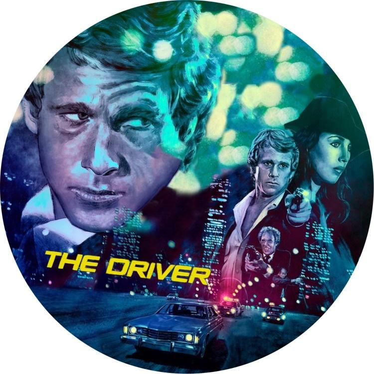 監督ウォルター・ヒル、主演ライアンオニールの映画ザ・ドライバーのDVDラベルです