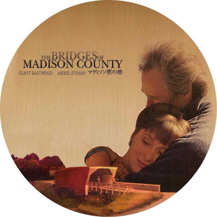 マディソン郡の橋の自作DVDラベルです