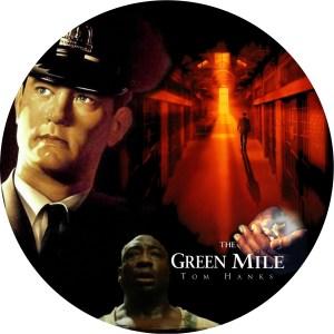 トムハンクス主演「グリーンマイル」のDVDラベルです