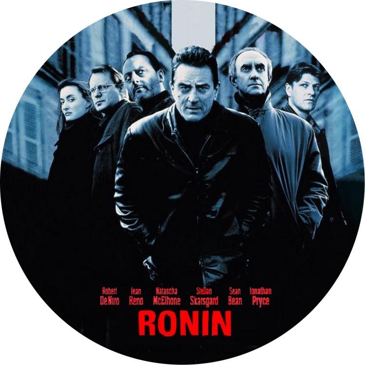 1998年公開の映画「RONIN ローニン」のDVDラベルです