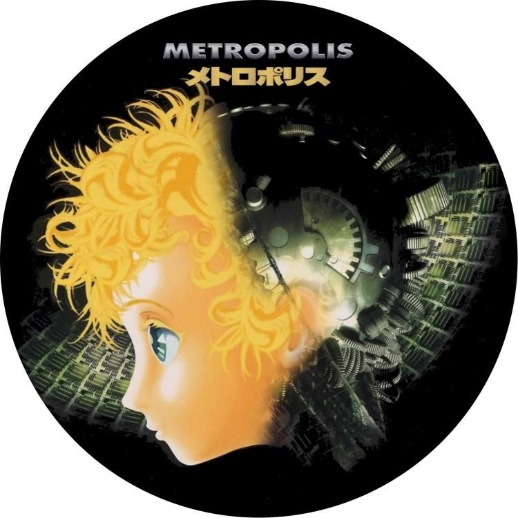 アニメ メトロポリス (2) のDVDラベルです