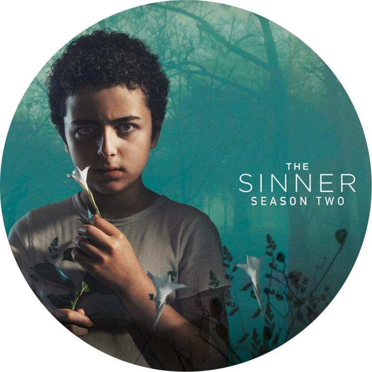 The Sinner season 2 のDVDラベルです
