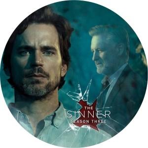 The Sinner season 3 のDVDラベルです