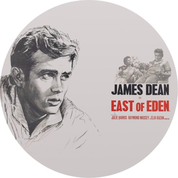 ジェーム スディーン エデンの東 のDVDラベル