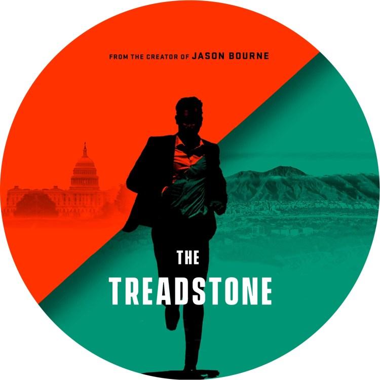 トレッドストーン TREADSTONE のDVDラベルです
