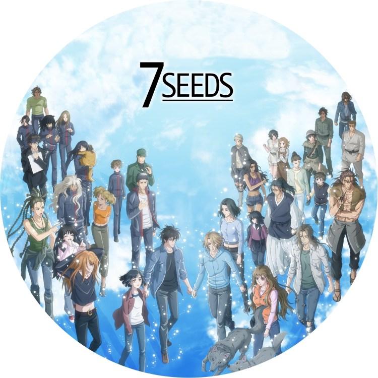 7seeds 2期 DVDラベルです