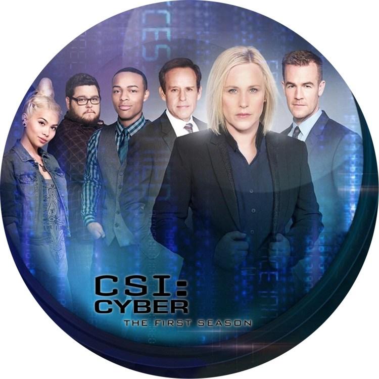 CSI:サイバー シーズン1 のDVDラベル