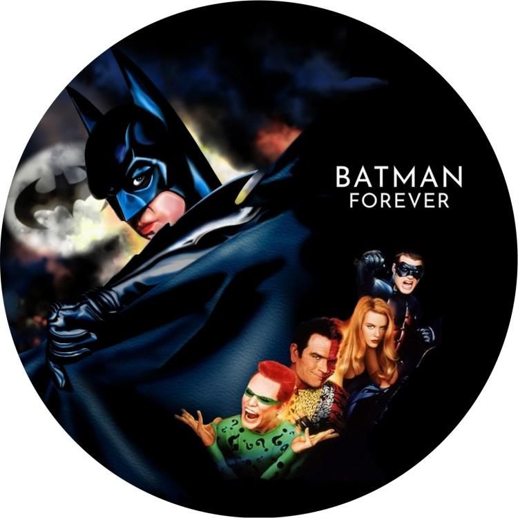 バットマン フォーエバー DVDラベル