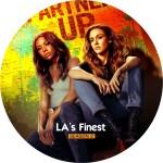LA's FINEST season 2 DVDラベル