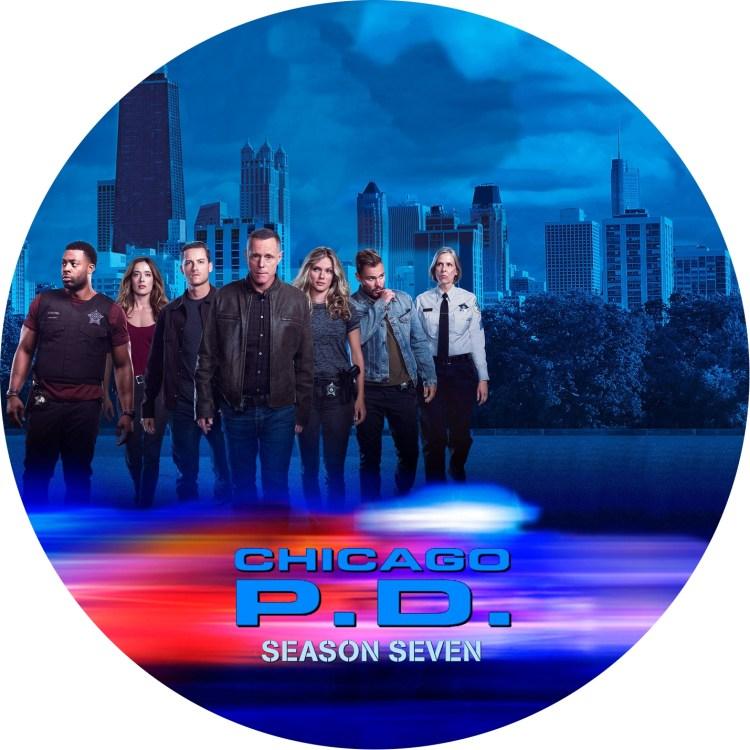 シカゴP.D. season 7 DVDラベル