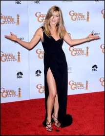 Jennifer Aniston Red Carpet Meeko Spark Tv