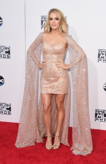 American Music Awards Carrie Underwood 2015