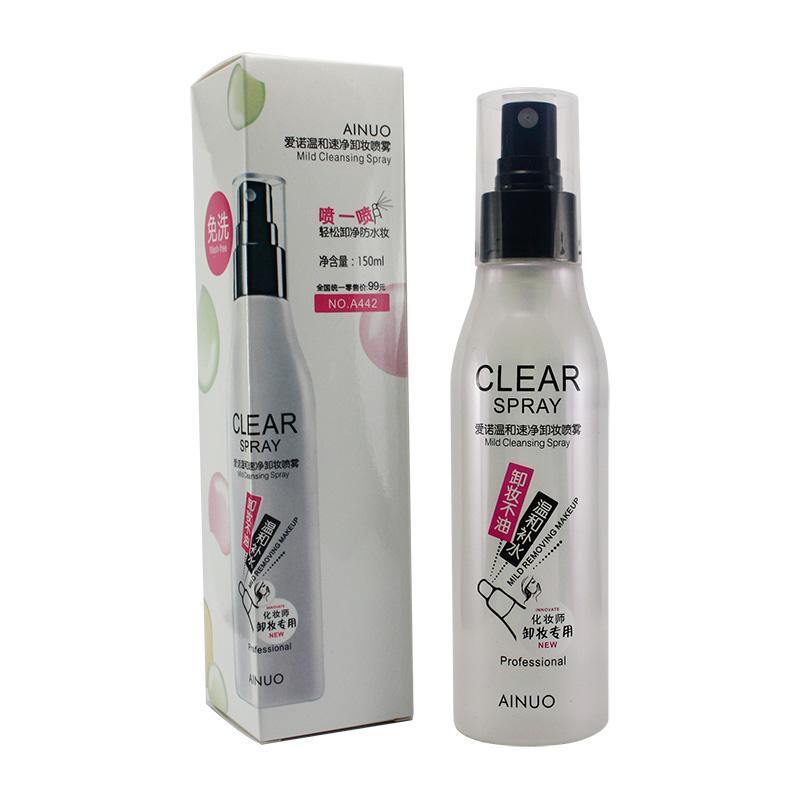 Ainuo Clear spray - mild cleansing spray สเปรย์ เช็ดเครื่องสำอาง