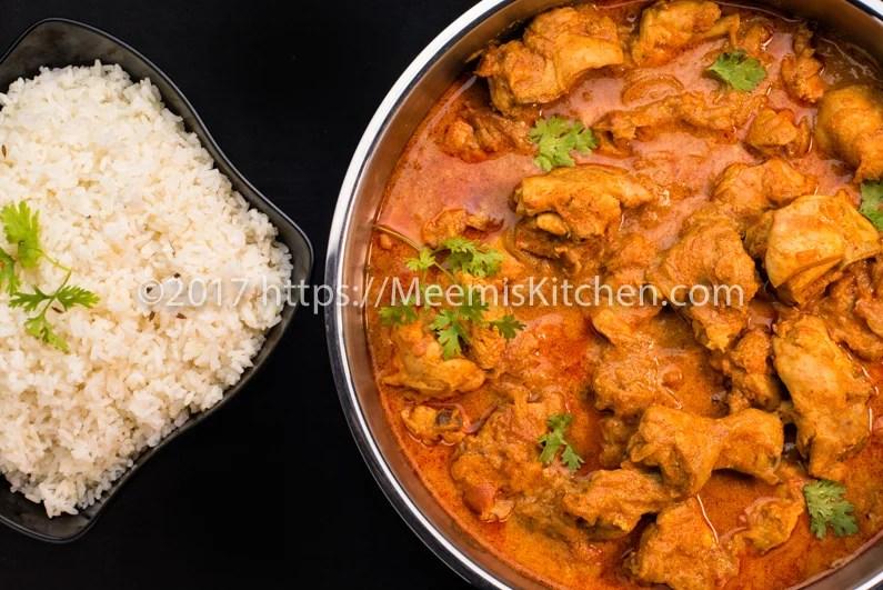 Punjabi Chicken Curry / Thick gravy Chicken Curry ...
