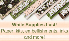 Clearance, Sale, Discount, Coupon, Paper, Kits, embellishments, inks, tools, stamps, best price, on sale, clearance