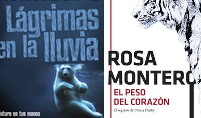 """""""Lágrimas en la lluvia"""" y """"El peso del corazón"""", Rosa Montero"""