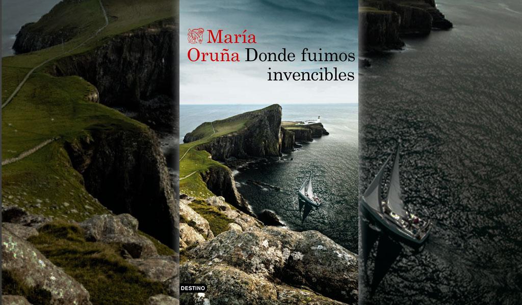 Donde fuimos invencibles, María Oruña. Me encanta leer