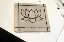 Outlining the lotus