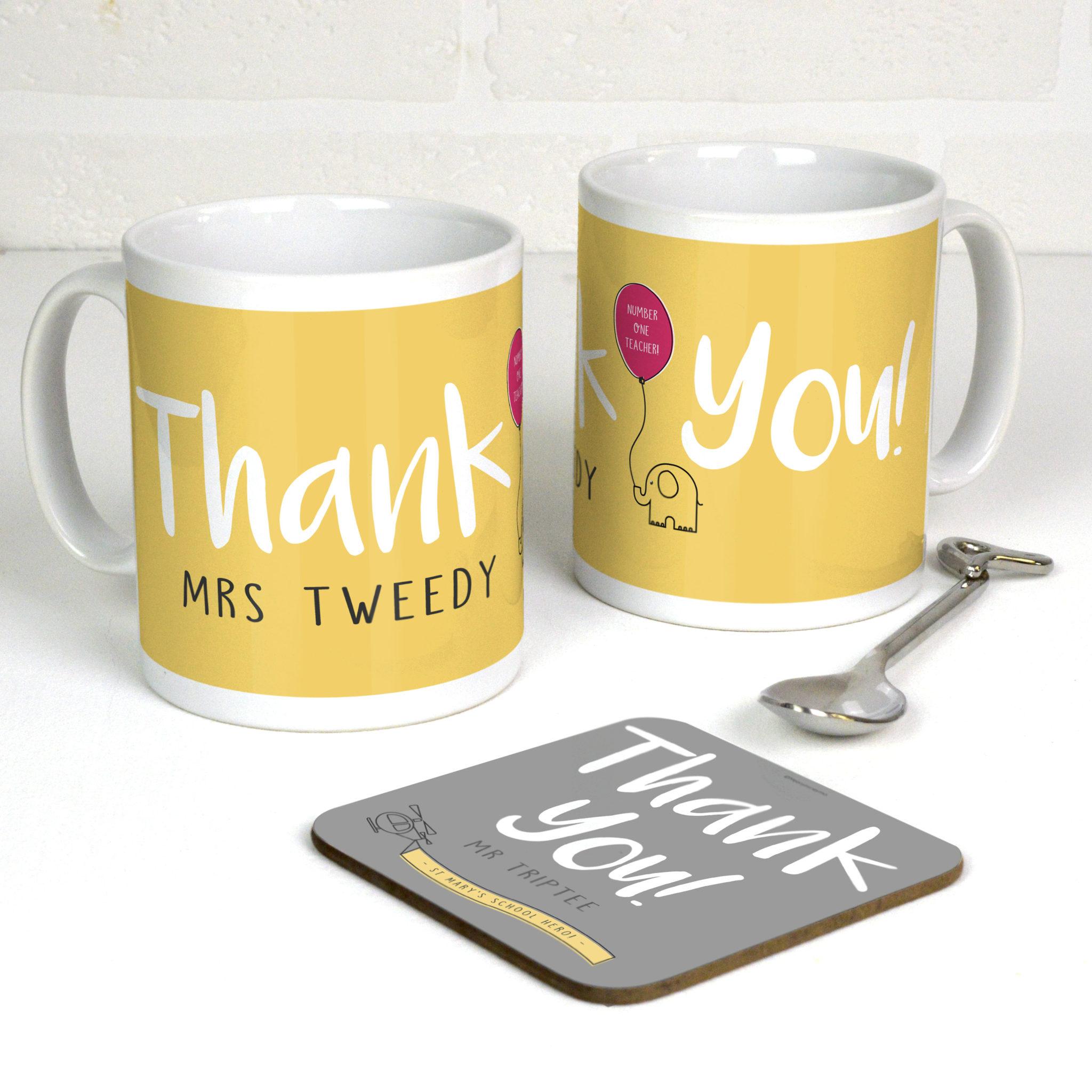 personalised thank you mugs