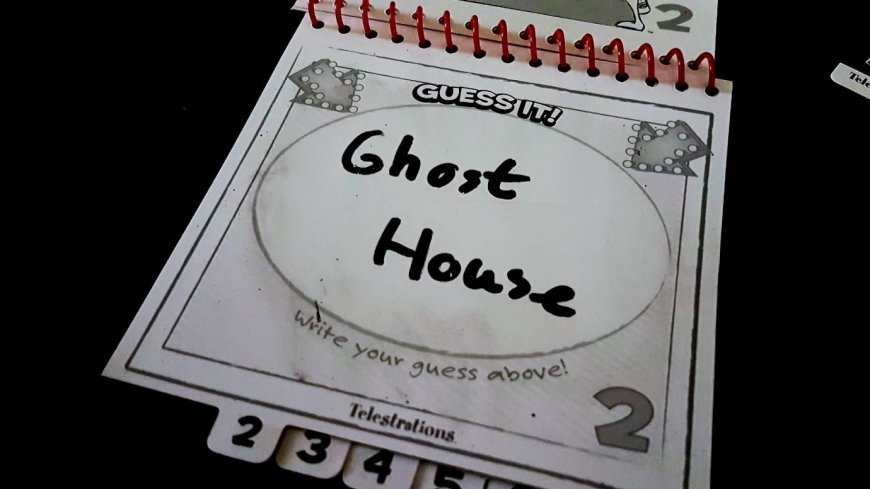 Guess is ghost house