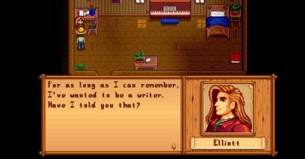 Elliott, the writer who never writes