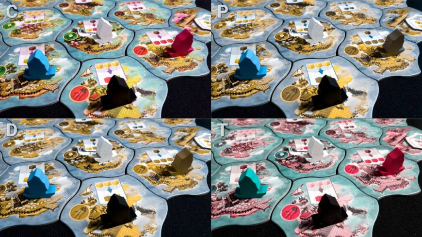 Colour blindness and ships