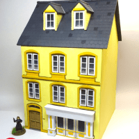 Streetscape - 28mm MDF buildings with a difference on Kickstarter
