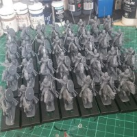 Painting Norman cavalry: The horses