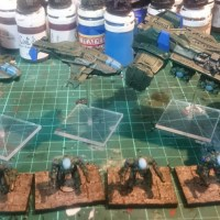 On the painting table - 24th January 2017