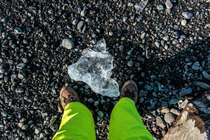 Nasse Füße sind inbegriffen © Jutta-Ingala, 6 Grad Ost