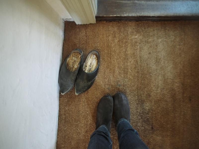 Altes und neues Schuhwerk