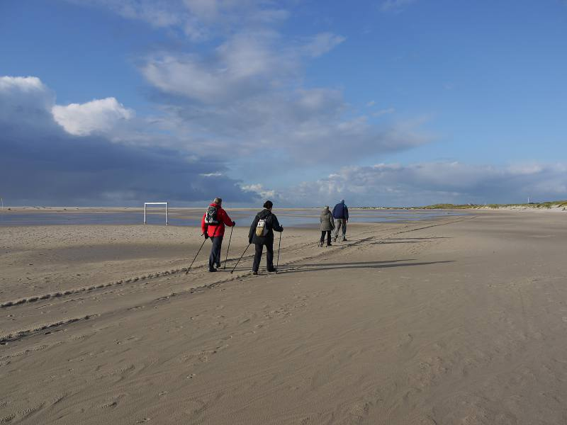 Nordic Walking auf Amrum