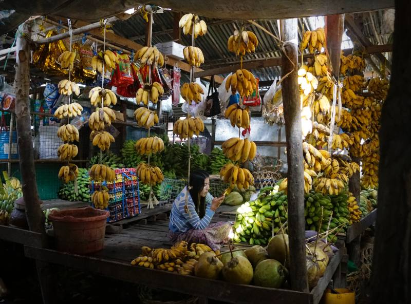 Bananen-Girlanden