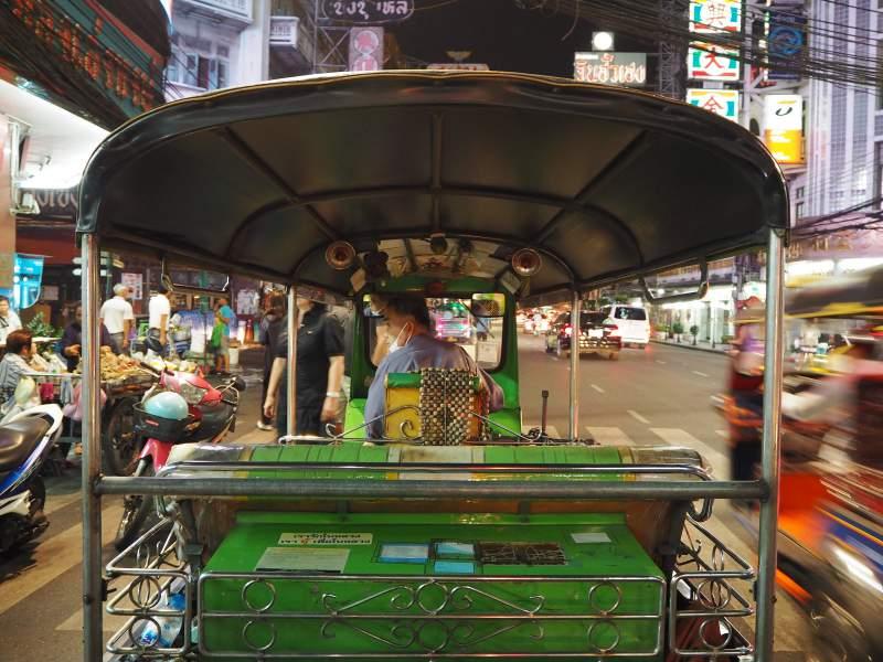 Mit dem Tuk-Tuk durch Bangkok